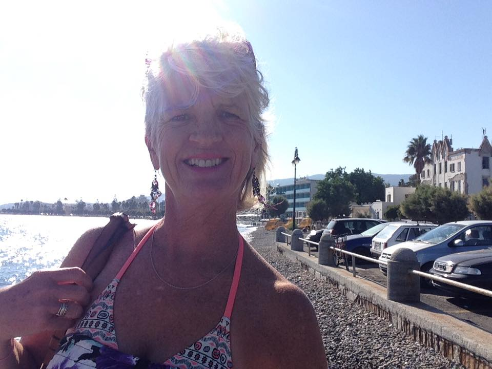 In Kos, Greece, several years ago, travelling with my mother